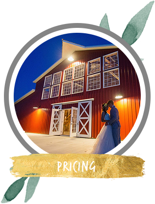 Pricing for wedding barn