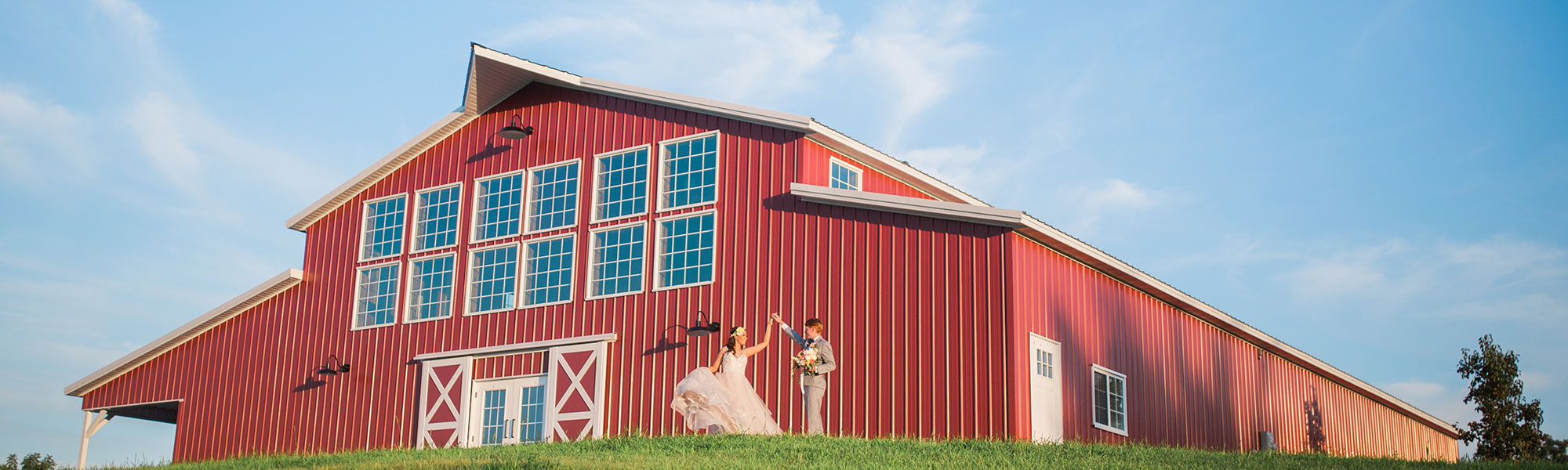 Iowa wedding barn