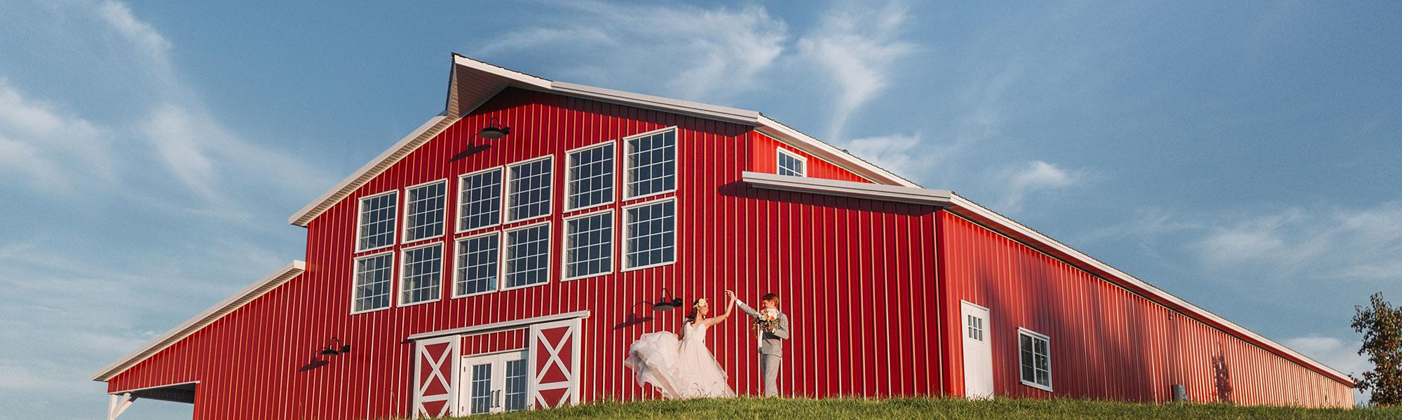 Red Acre Barn - Iowa Barn Wedding Venue, Event Venue
